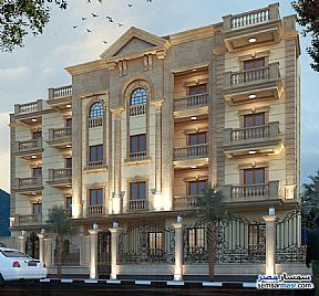 Apartment 4 bedrooms 3 baths 251 sqm semi finished For Sale Mukhabarat Land 6th of October - 4
