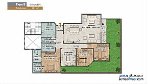 Apartment 3 bedrooms 3 baths 187 sqm extra super lux For Sale North Extensions 6th of October - 5