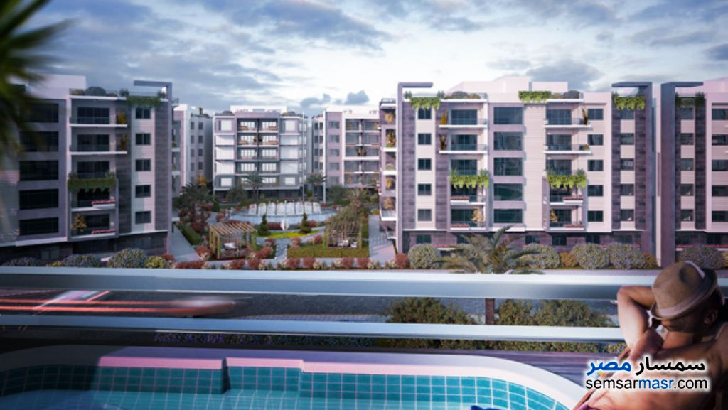 Photo 4 - Apartment 3 bedrooms 3 baths 254 sqm extra super lux For Sale North Extensions 6th of October