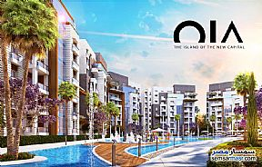 Ad Photo: Apartment 3 bedrooms 3 baths 165 sqm extra super lux in New Capital  Cairo