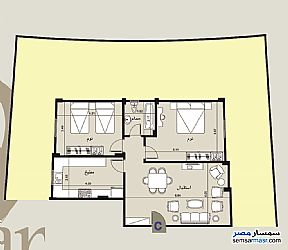 Ad Photo: Apartment 2 bedrooms 1 bath 114 sqm semi finished in Shorouk City  Cairo
