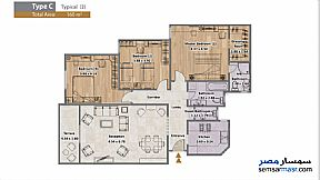 Apartment 3 bedrooms 3 baths 160 sqm extra super lux For Sale North Extensions 6th of October - 4