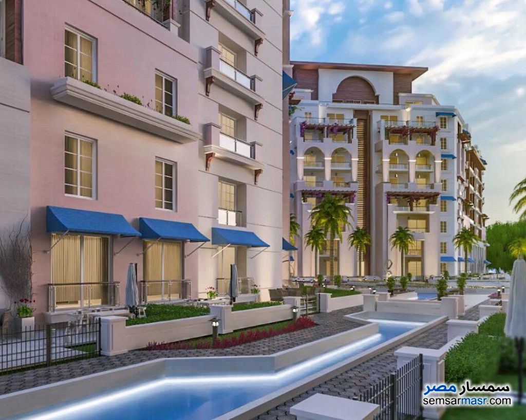 Photo 10 - Apartment 3 bedrooms 3 baths 168 sqm extra super lux For Sale New Capital Cairo
