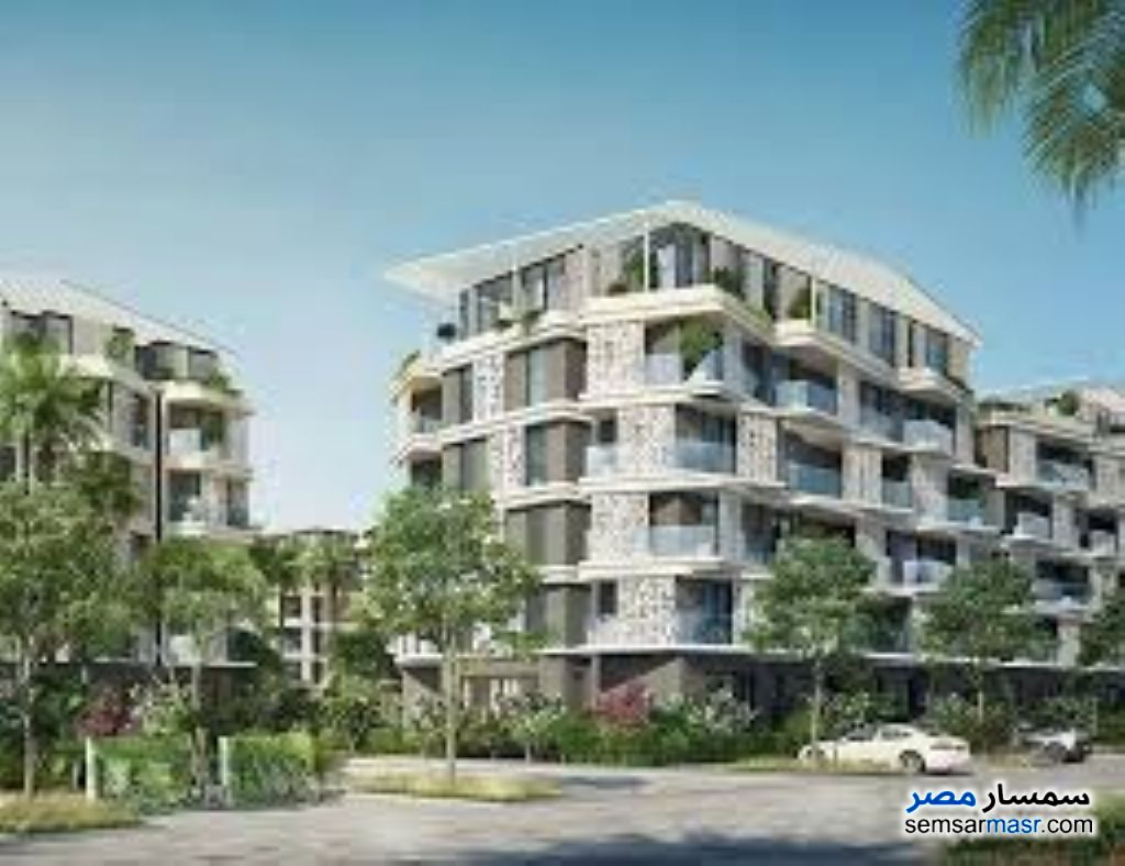 Ad Photo: Apartment 1 bedroom 1 bath 84 sqm semi finished in Palm Hills  6th of October
