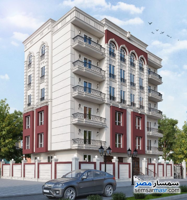 Ad Photo: Apartment 3 bedrooms 2 baths 150 sqm semi finished in Mokattam  Cairo
