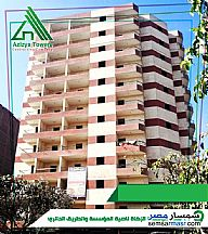 Ad Photo: Apartment 3 bedrooms 1 bath 160 sqm without finish in Al Salam City  Cairo