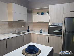 Ad Photo: Apartment 3 bedrooms 3 baths 187 sqm extra super lux in First Settlement  Cairo