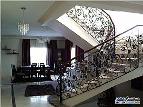 Apartment 4 bedrooms 3 baths 230 sqm extra super lux For Rent Rehab City Cairo - 2