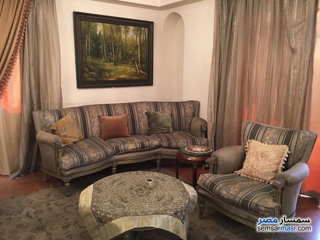 Photo 2 - Apartment 6 bedrooms 2 baths 204 sqm extra super lux For Sale Maadi Cairo