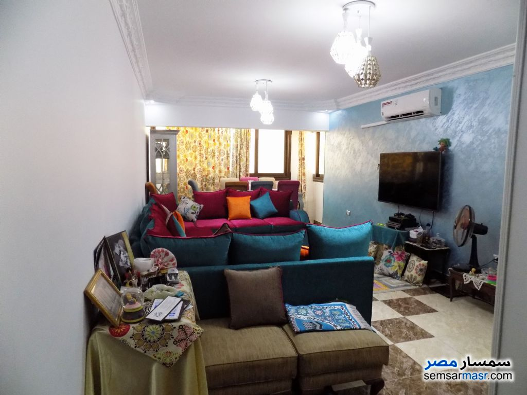 Photo 11 - Apartment 2 bedrooms 1 bath 92 sqm super lux For Sale First Settlement Cairo