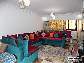 Ad Photo: Apartment 2 bedrooms 1 bath 92 sqm super lux in First Settlement  Cairo