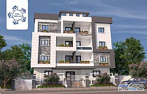 Ad Photo: Apartment 3 bedrooms 2 baths 161 sqm semi finished in Fifth Settlement  Cairo