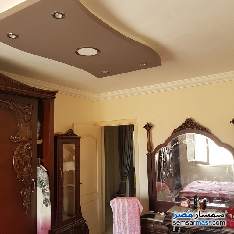 Ad Photo: Apartment 3 bedrooms 1 bath 120 sqm super lux in Al Fardous City  6th of October