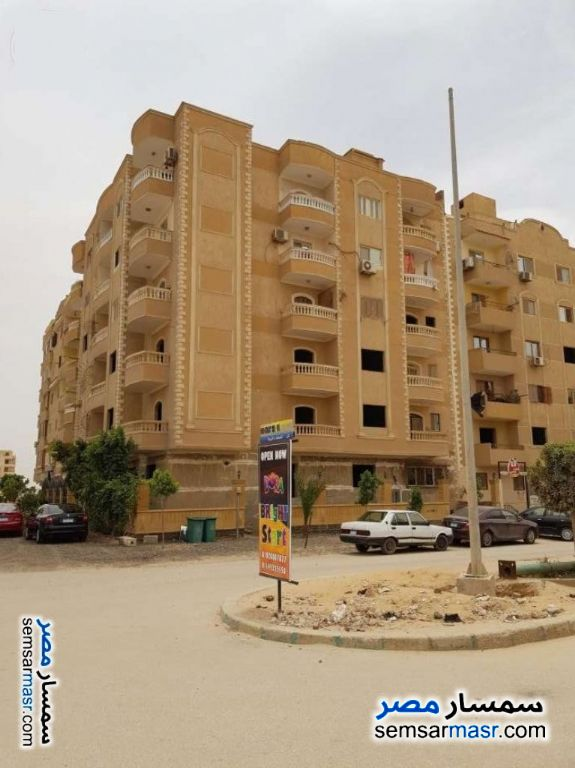 Photo 1 - Apartment 2 bedrooms 1 bath 115 sqm semi finished For Sale Al Fardous City 6th of October