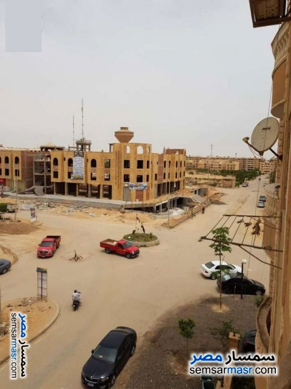 Photo 5 - Apartment 2 bedrooms 1 bath 115 sqm semi finished For Sale Al Fardous City 6th of October