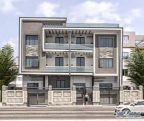 Ad Photo: Apartment 3 bedrooms 3 baths 155 sqm semi finished in El Ubour City  Qalyubiyah
