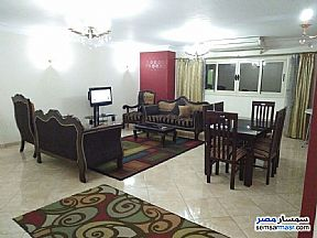 Apartment 3 bedrooms 2 baths 160 sqm super lux For Rent Mohandessin Giza - 1