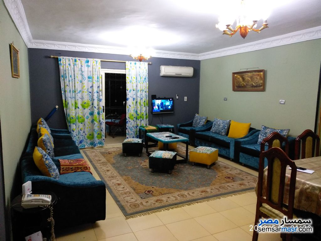 Photo 1 - Apartment 2 bedrooms 1 bath 130 sqm lux For Rent Nasr City Cairo