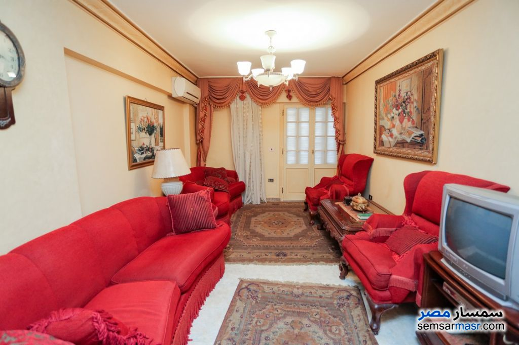 Photo 2 - Apartment 3 bedrooms 2 baths 140 sqm super lux For Rent Saba Pasha Alexandira