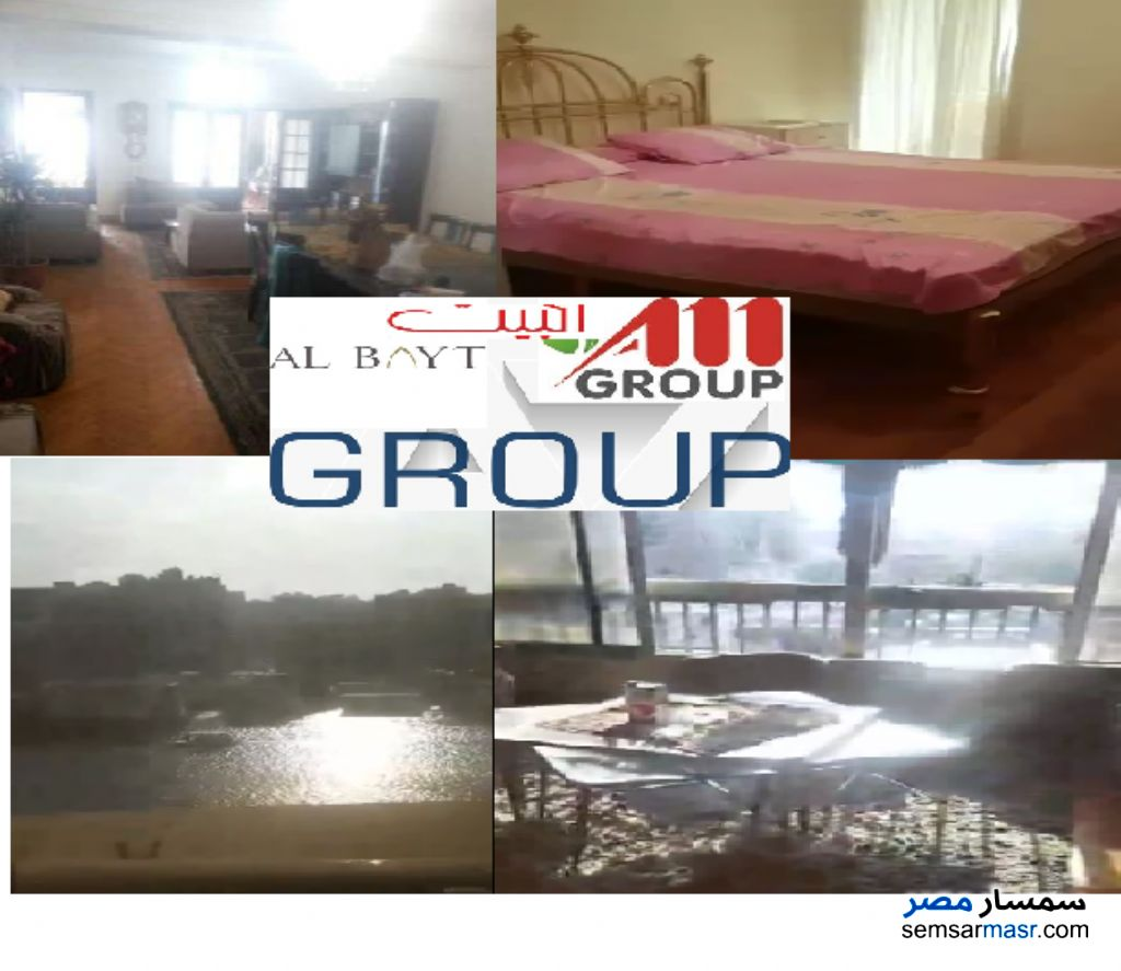 Photo 1 - Apartment 4 bedrooms 2 baths 250 sqm extra super lux For Rent Zamalek Cairo