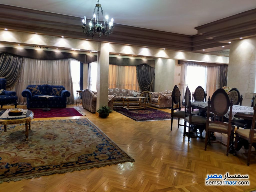 Photo 18 - Apartment 4 bedrooms 4 baths 300 sqm extra super lux For Sale Mohandessin Giza