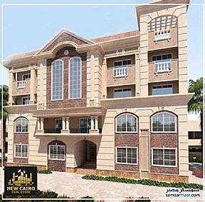 Ad Photo: Apartment 3 bedrooms 2 baths 191 sqm semi finished in New Cairo  Cairo