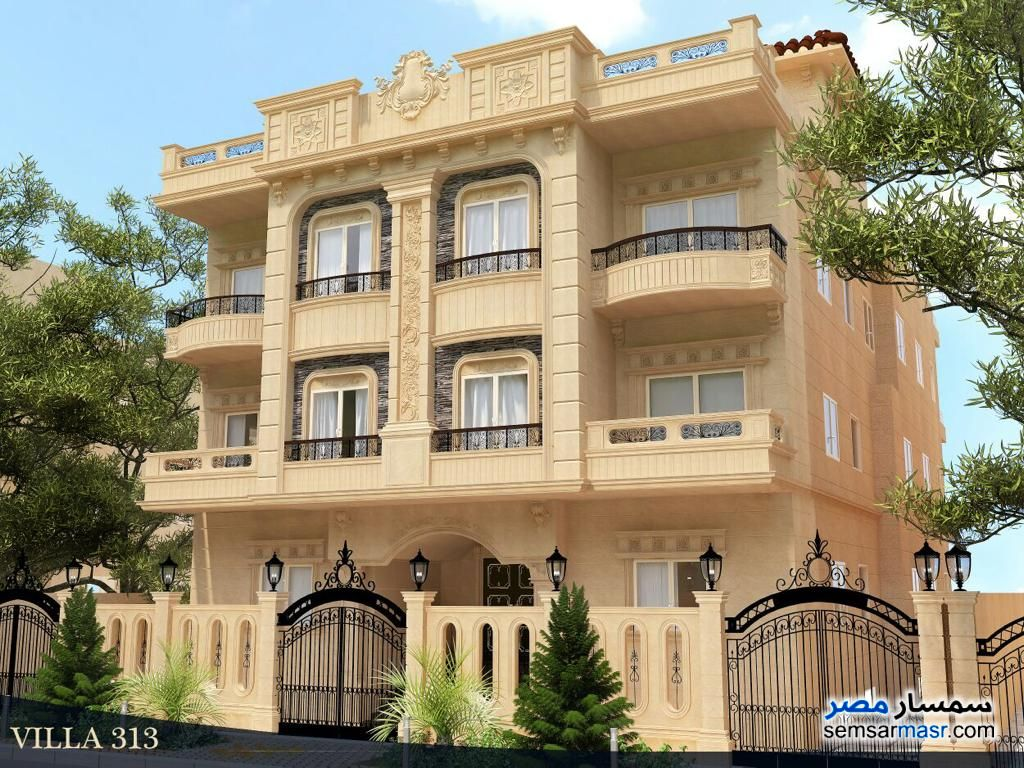 Photo 1 - Apartment 3 bedrooms 3 baths 200 sqm semi finished For Sale First Settlement Cairo