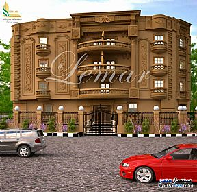Ad Photo: Apartment 3 bedrooms 3 baths 205 sqm semi finished in Mukhabarat Land  6th of October