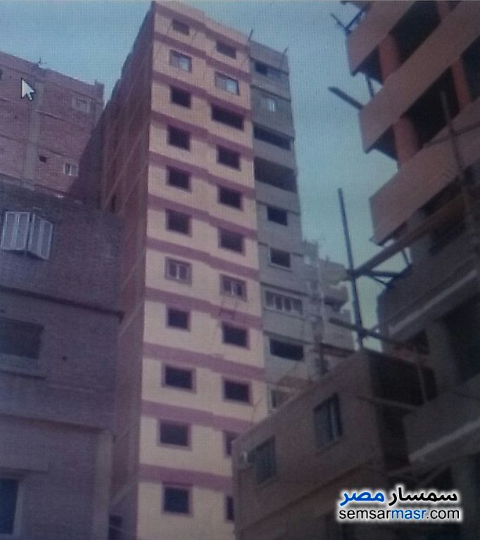 Photo 1 - Apartment 2 bedrooms 1 bath 65 sqm without finish For Sale Zeitoun Cairo