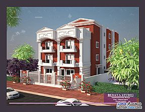 Ad Photo: Apartment 3 bedrooms 3 baths 235 sqm extra super lux in El Motamayez District  6th of October