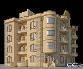 Apartment 3 bedrooms 2 baths 247 sqm semi finished For Sale North Extensions 6th of October - 2