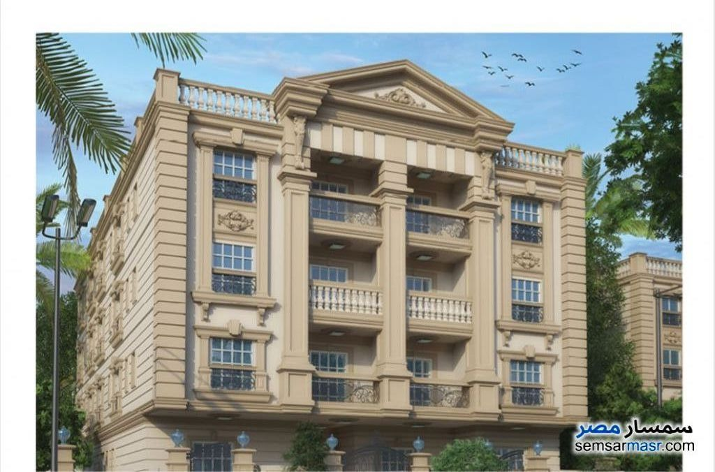 Ad Photo: Apartment 3 bedrooms 2 baths 156 sqm semi finished in New Cairo  Cairo