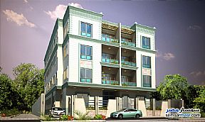 Ad Photo: Apartment 3 bedrooms 3 baths 193 sqm semi finished in Fifth Settlement  Cairo