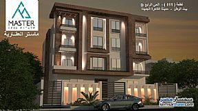 Ad Photo: Apartment 2 bedrooms 1 bath 107 sqm semi finished in New Cairo  Cairo