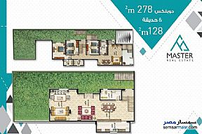 3 bedrooms 3 baths 189 sqm semi finished For Sale Fifth Settlement Cairo - 5