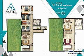 3 bedrooms 3 baths 189 sqm semi finished For Sale Fifth Settlement Cairo - 6