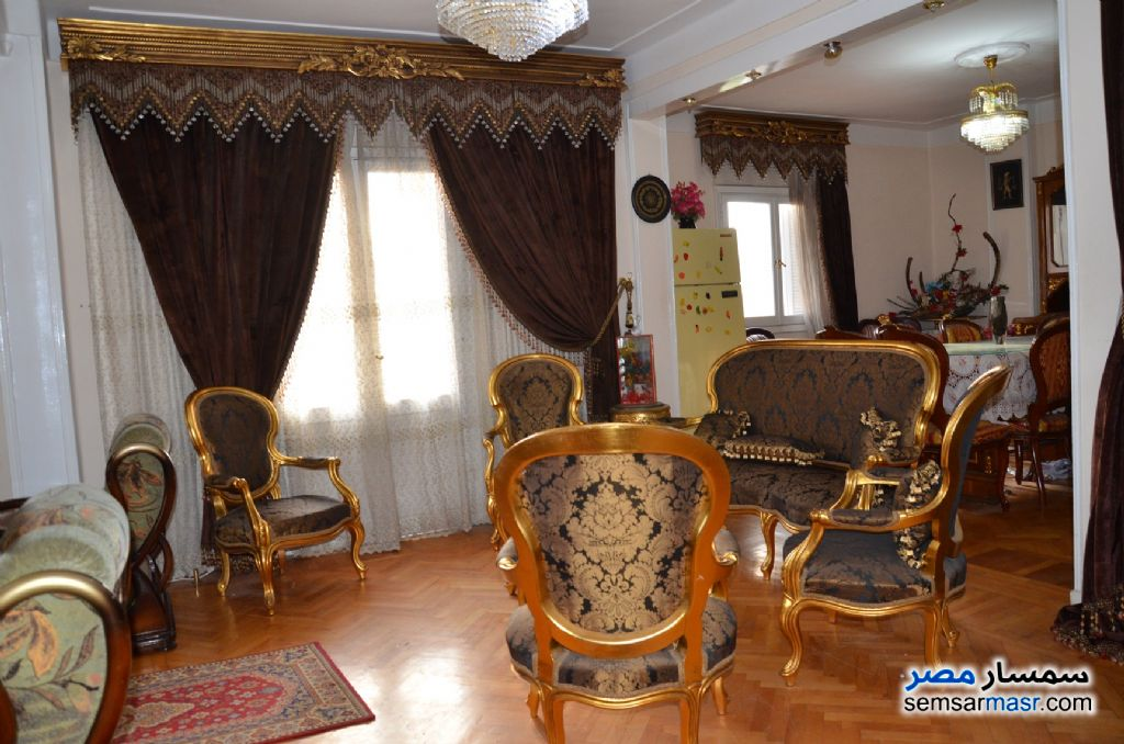 Photo 1 - Apartment 3 bedrooms 1 bath 140 sqm super lux For Sale Kafr Abdo Alexandira