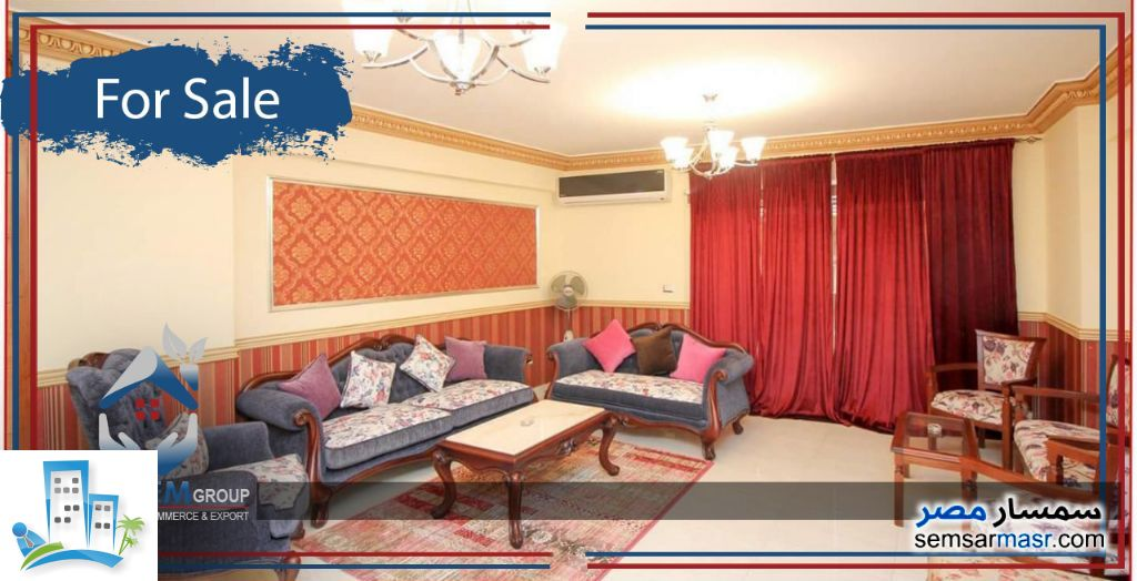 Ad Photo: Apartment 3 bedrooms 2 baths 230 sqm extra super lux in Saba Pasha  Alexandira