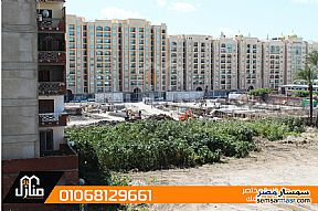 Ad Photo: Apartment 2 bedrooms 1 bath 100 sqm semi finished in Smoha  Alexandira