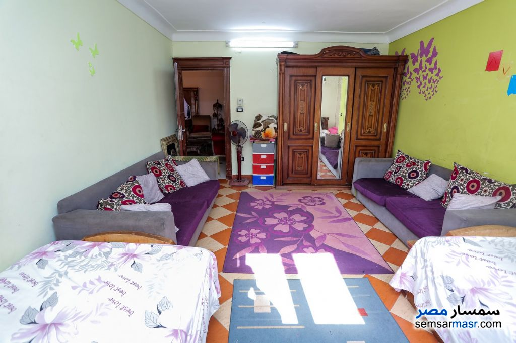 Photo 11 - Apartment 3 bedrooms 1 bath 135 sqm super lux For Sale Moharam Bik Alexandira