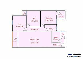 Apartment 3 bedrooms 3 baths 168 sqm extra super lux For Sale Sidi Gaber Alexandira - 5
