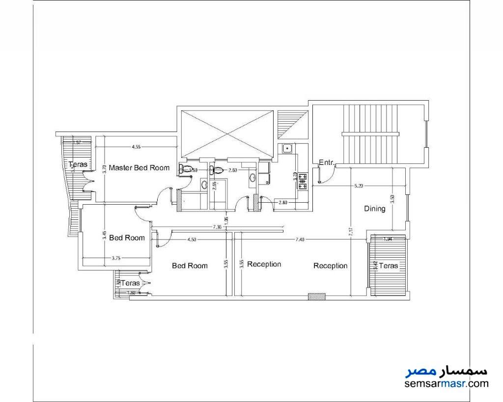 Photo 5 - Apartment 3 bedrooms 2 baths 173 sqm semi finished For Sale New Heliopolis Cairo