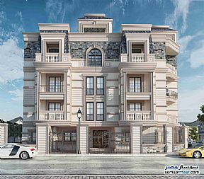 Ad Photo: Apartment 3 bedrooms 2 baths 187 sqm semi finished in New Cairo  Cairo