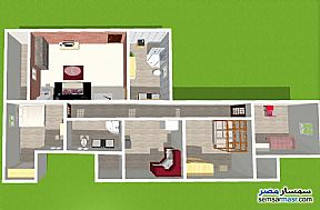 Ad Photo: Apartment 3 bedrooms 2 baths 210 sqm without finish in Smoha  Alexandira