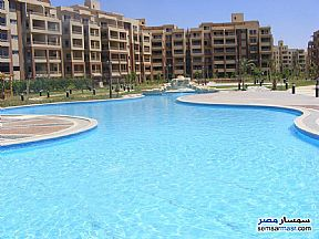 Apartment 2 bedrooms 2 baths 130 sqm without finish For Sale North Extensions 6th of October - 4