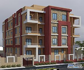 Ad Photo: Apartment 2 bedrooms 1 bath 90 sqm extra super lux in Districts  6th of October