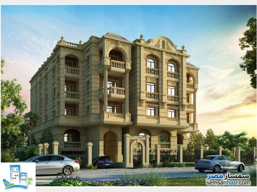 Ad Photo: Apartment 3 bedrooms 2 baths 210 sqm semi finished in October Gardens  6th of October