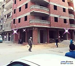 Ad Photo: Apartment 4 bedrooms 1 bath 100 sqm without finish in Ain Shams  Cairo