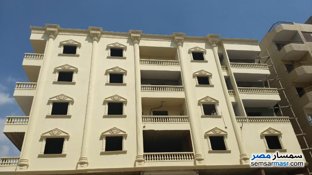 Photo 2 - Apartment 2 bedrooms 1 bath 104 sqm semi finished For Sale Hadayek Al Ahram Giza