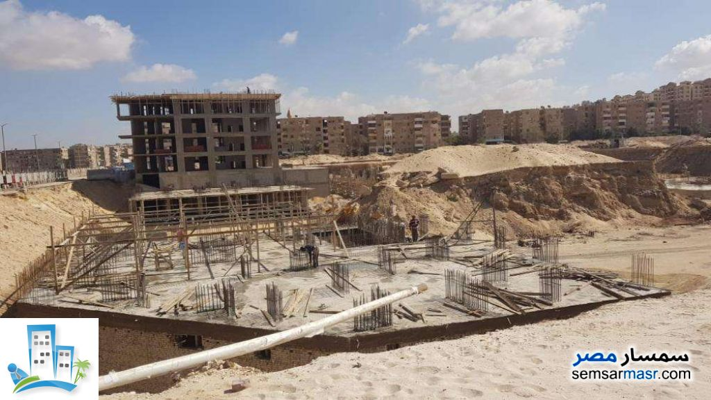 Photo 1 - Apartment 2 bedrooms 2 baths 110 sqm semi finished For Sale Nasr City Cairo